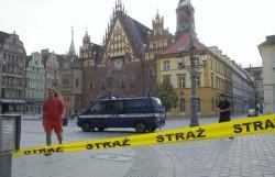Bomba na wrocławskim rynku?