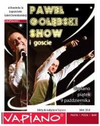 Paweł Gołębski Show w restauracji Vapiano