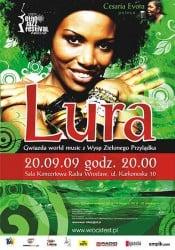 Lura - gwiazda z wysp zielonego przylądka rozpocznie Ethno Jazz Festival 2009