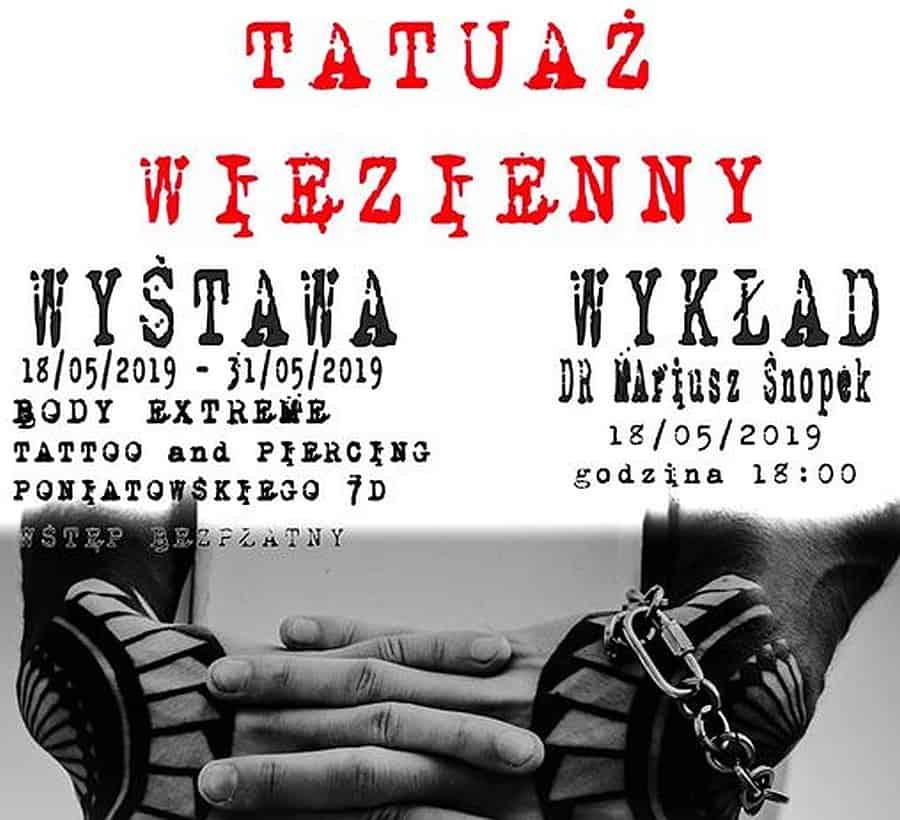 wystawa tatuazu wieziennego wroclaw studio body extreme