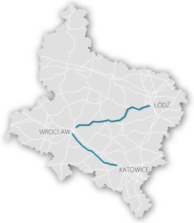 stacje ladowania samochodow elektrycznych autostrada a4 s8